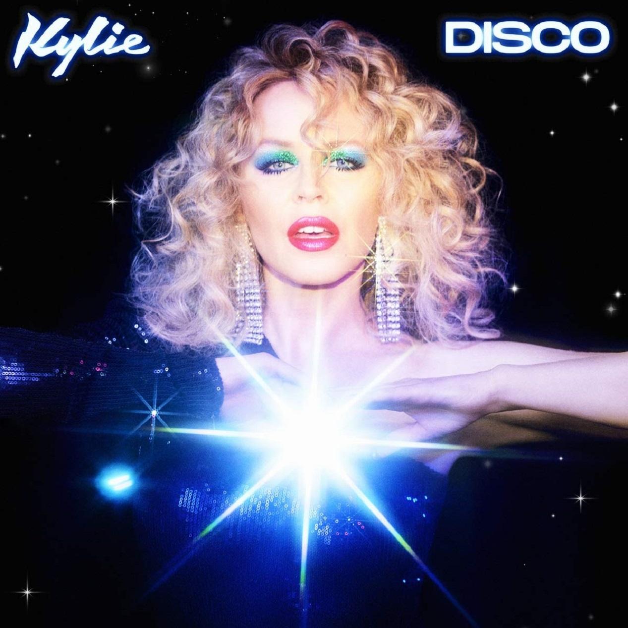 Kylie Minogue en pochette de son nouvel album Disco