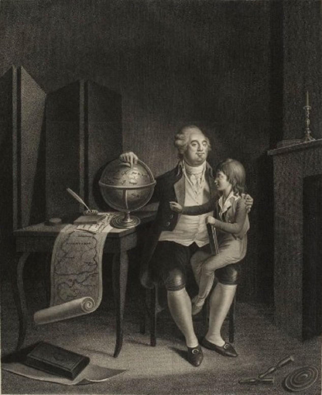 Louis XVI et son fils