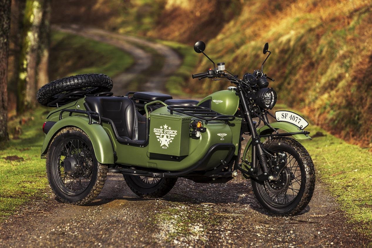 side-car du fabricant de motos français Mash