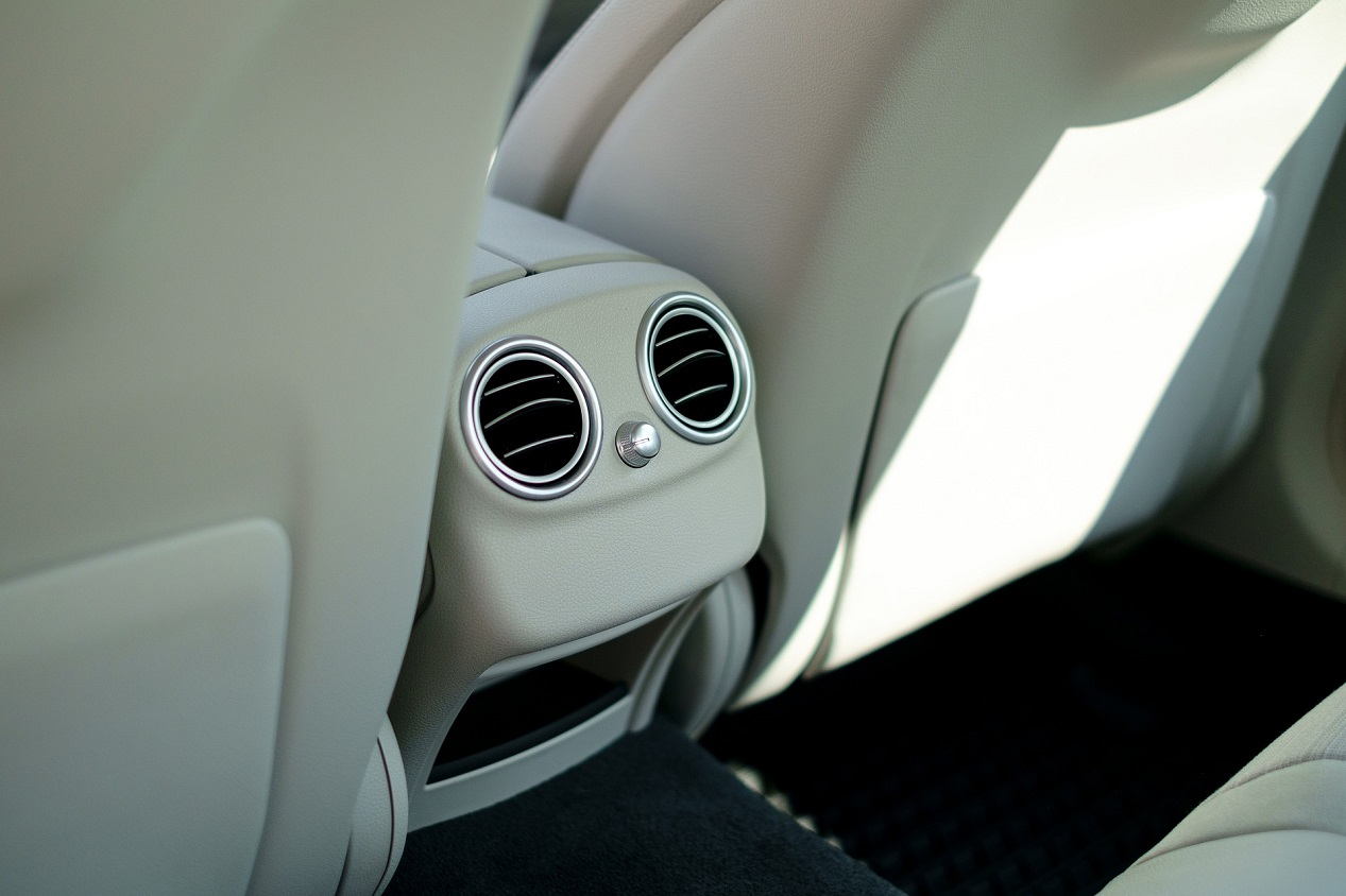 intérieur en cuir Mercedes