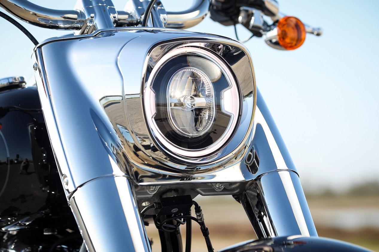 Harley-Davidson Fat Boy 2021 phare avant