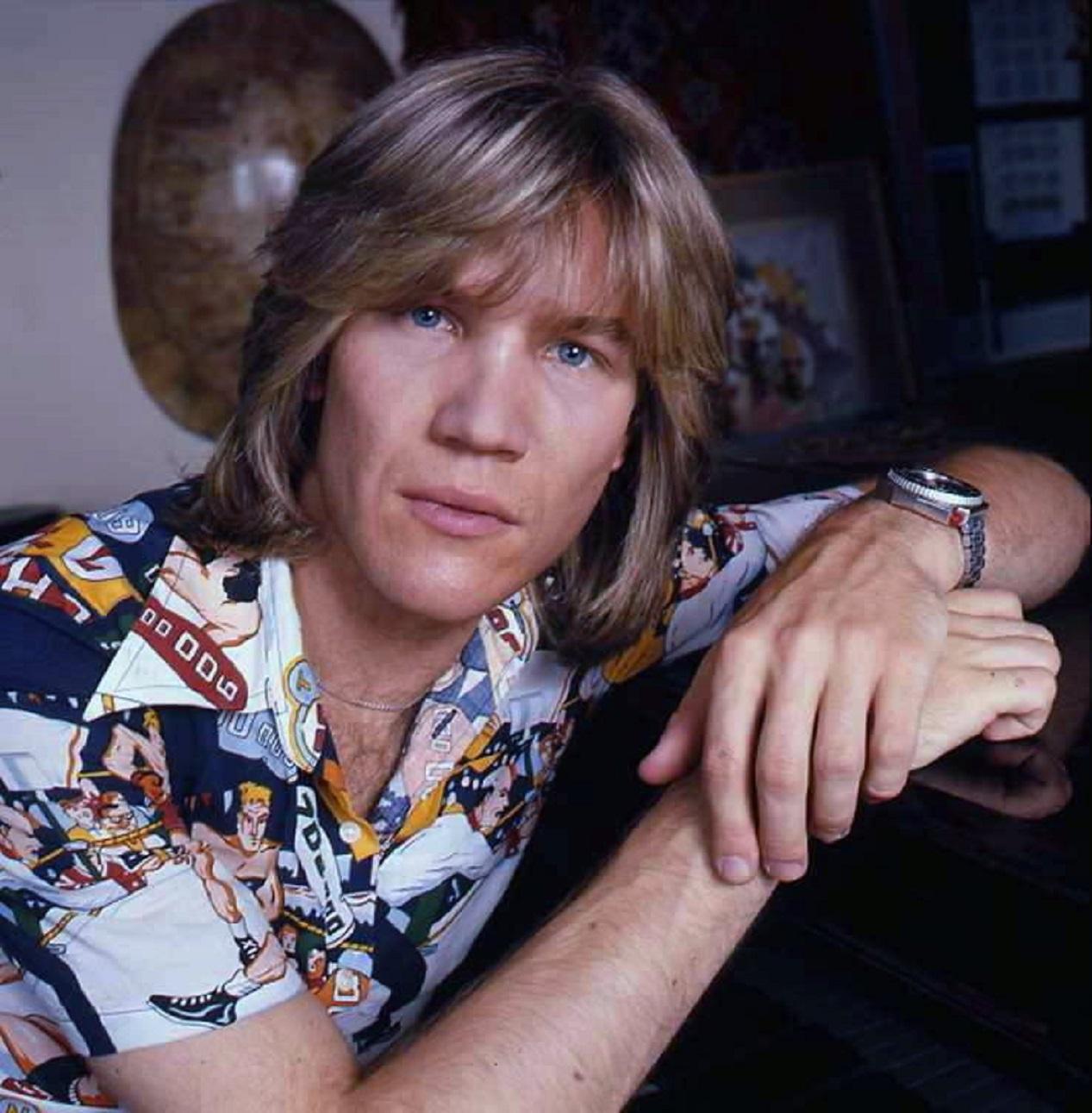 Le chanteur suisse Patrick Juvet en 1976