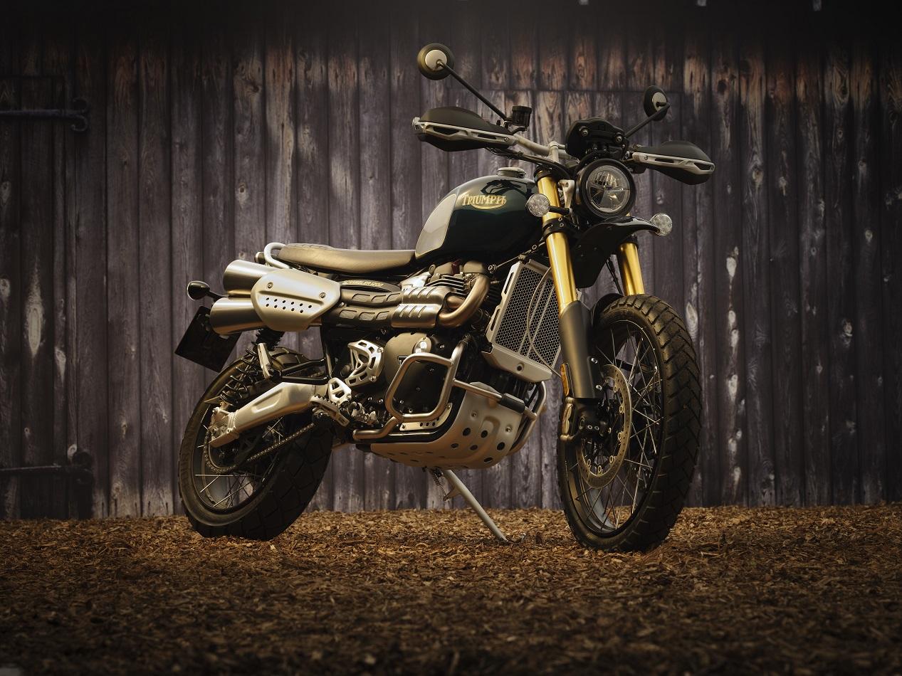 Moto Scrambler de Triumph modèle McQueen 2021
