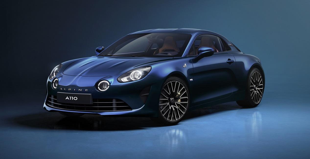 Alpine A110 édition limitée Légende GT 2021 bleue