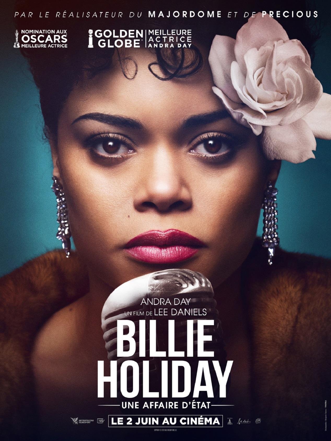 """Affiche du film """"Billie Holiday, une affaire d'État"""""""