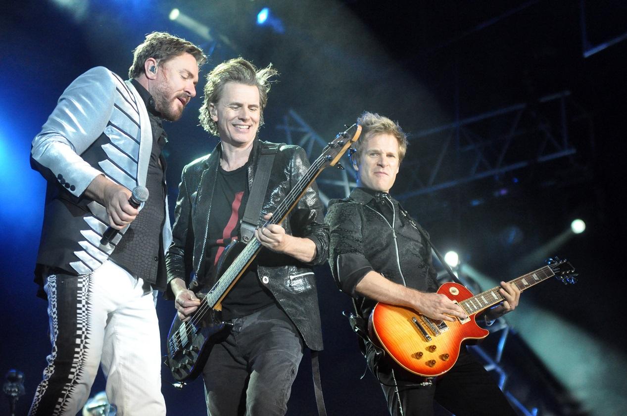 Duran Duran sur scène en 2012