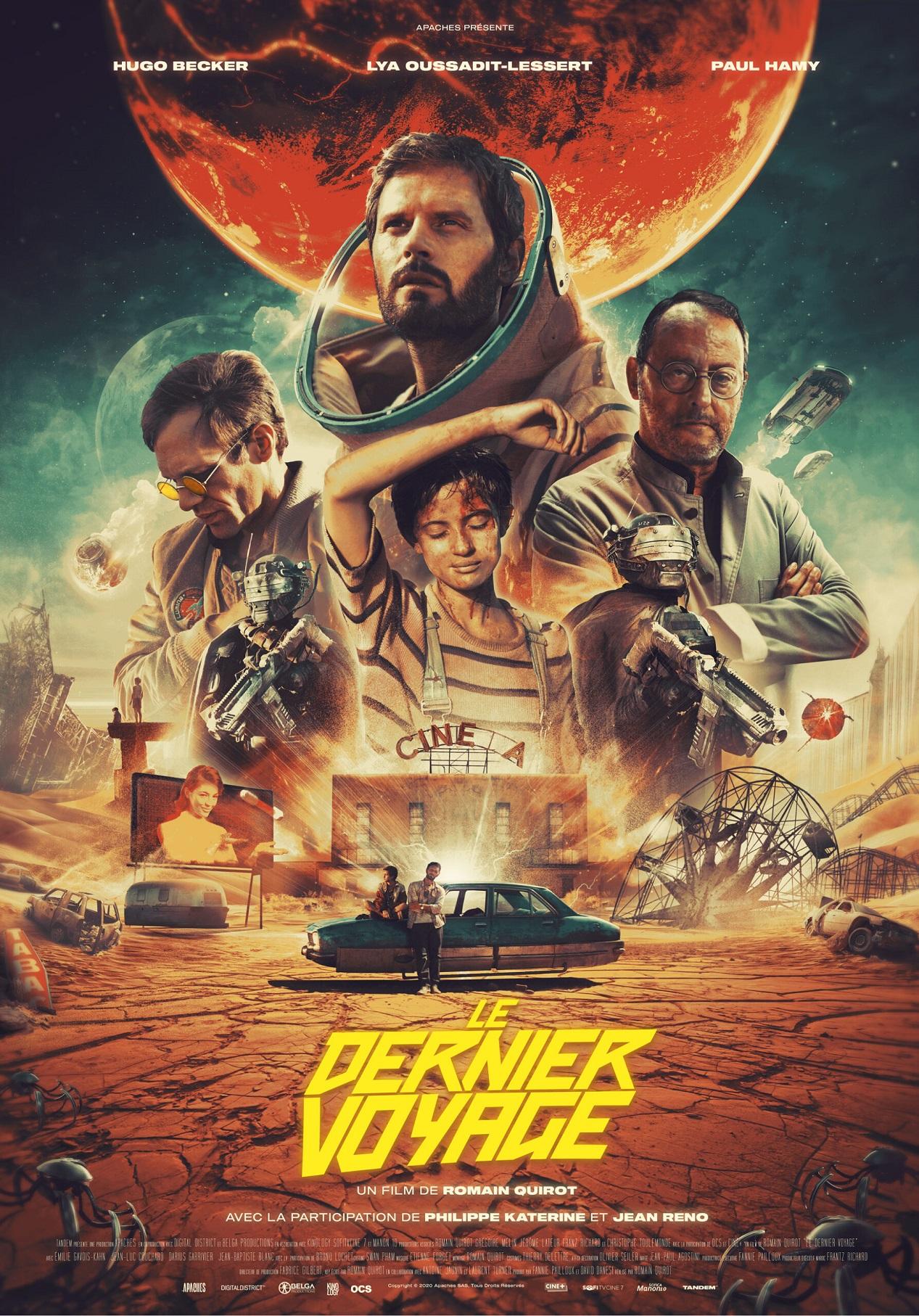 Affiche du film Le dernier voyage avec Jean Reno