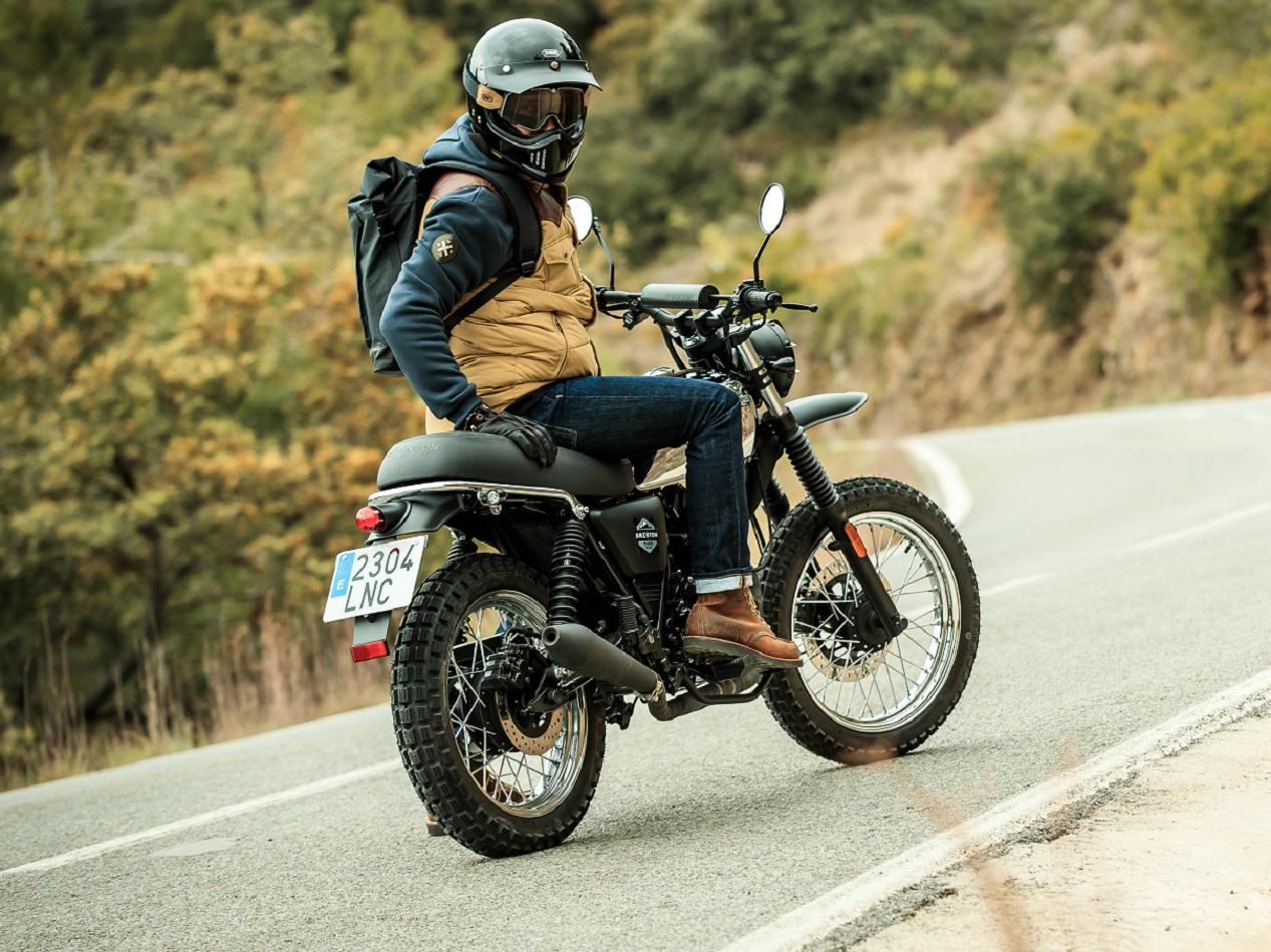 Moto rétro Brixton Felsberg 125 XC modèle 2021