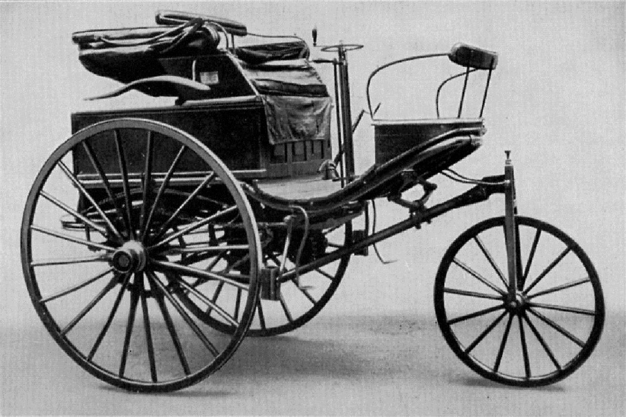 Benz Patent Motorwagen de 1885