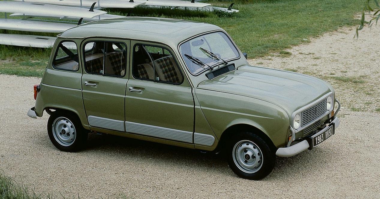 Renault 4 GTL verte de 1982