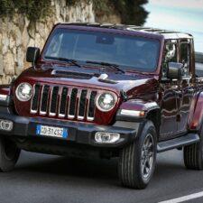 Le Pick-Up Jeep Gladiator commercialisé en France