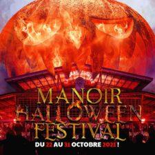 Le Manoir Halloween Festival sera à Paris du 22 au 31/10/2021